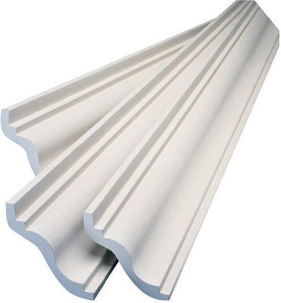 USG Boral New York Cornice 4.2m Length :: Plaster / Metal